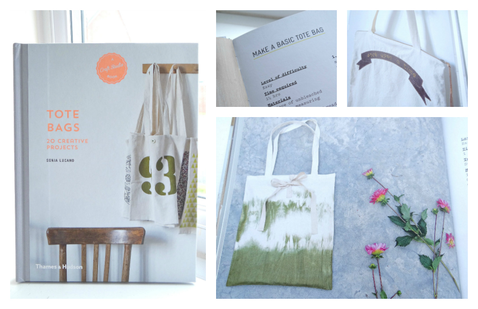 Craft Studio Books, make your own, Tote Bags