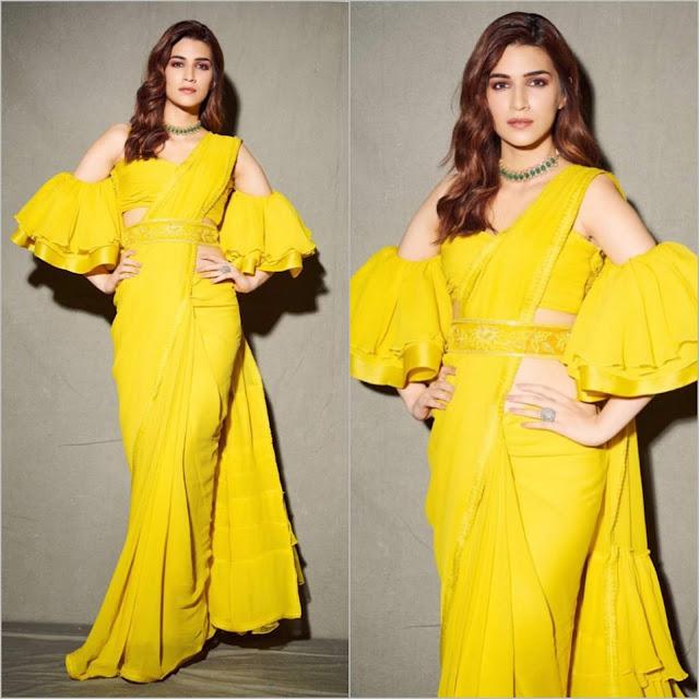 Kriti Sanon in Manish Malhotra Fancy Saree