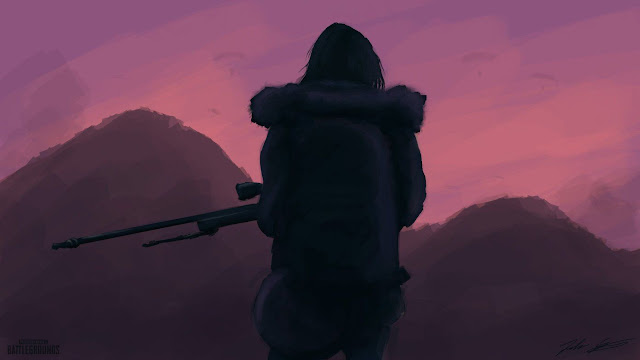 خلفيات ببجي PUBG Sniper Wallpaper