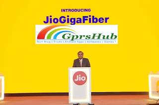 What are Reliance Jio GigaFiber and Jio GigaTV?