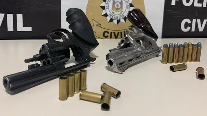 GRAVATAÍ   Polícia prende trio na Morada do Vale que invadiu uma casa