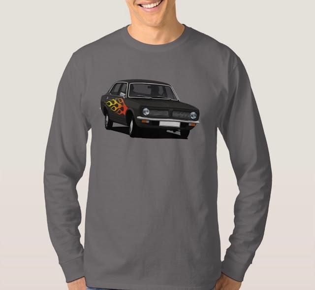 Car humour shirt