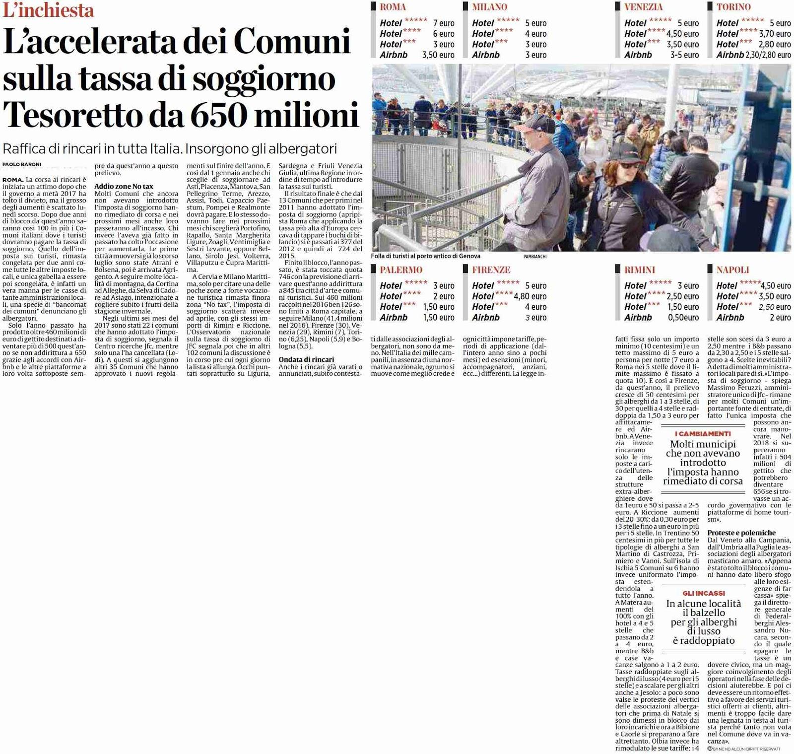 Best Roma Tassa Di Soggiorno Images - Casa & Design 2018 ...