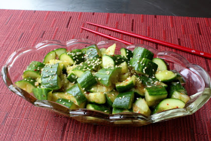 Smashed Cucumber Salad – I Crushed This