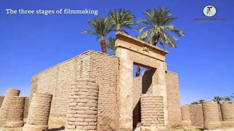 المراحل الثلاث - لصناعة الفيلم
