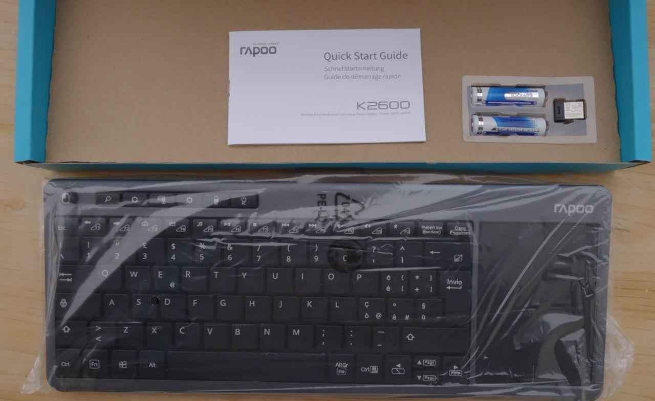 Trên tay bàn phím không dây Rapoo K2600: Nhỏ gọn dễ sử dụng