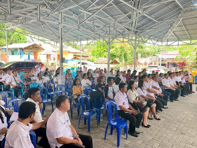 Tingkatkan Pelayanan Publik , Walikota Manado Kunker di Kecamatan Mapanget