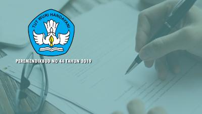 Permendikbud No 44 Tahun 2019 tentang PPDB TK, SD, SMP, SMA dan SMK