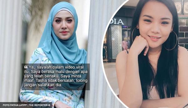 'Ya, sayalah dalam video viral itu' - Fathia Latiff