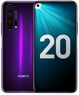 Honor 20 pro smartphone