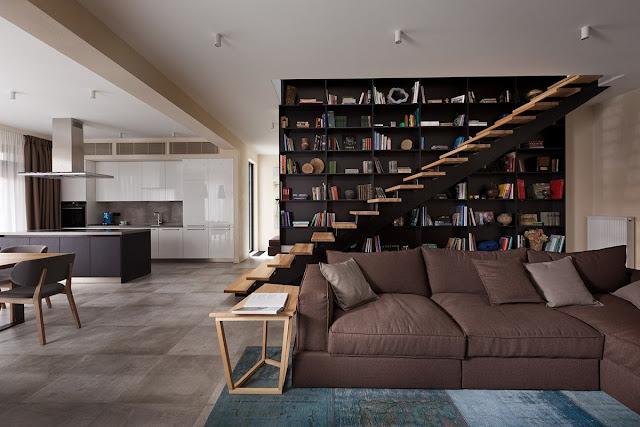 folding staircase steel design