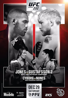 UFC 232 Jones Vs. Gustafsson 2 2018 Custom HD Latino
