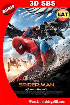 Spider-Man: De Regreso a Casa (2017) Latino HD 3D SBS  BDRIP 1080P - 2017