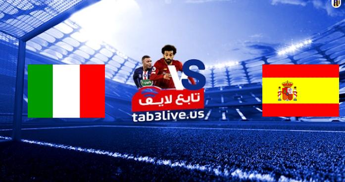 نتيجة مباراة اسبانيا وايطاليا اليوم 2021/07/06 الأمم الأوروبية