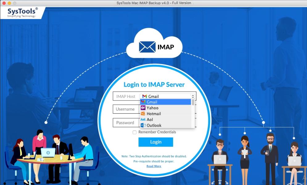 export IMAP to PST