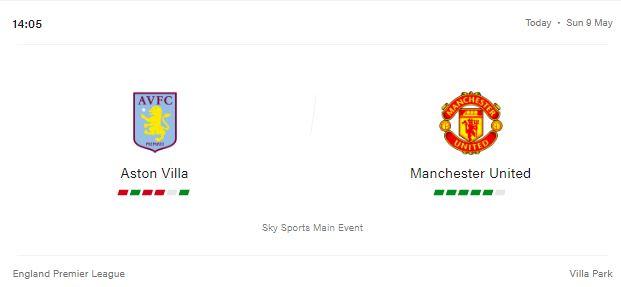Aston Villa vs Manchester United Preview and Prediction 2021
