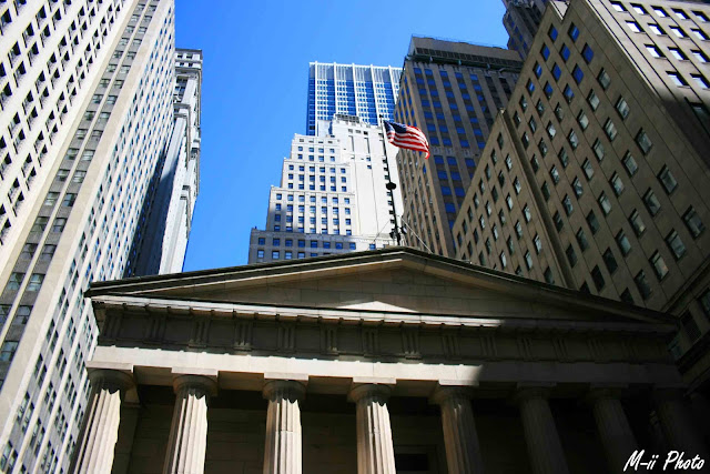 My Travel Background : Une semaine à New York : Federal Hall