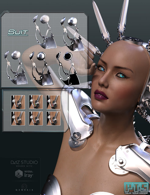 Cosmic Synx Outfit for Genesis 3 Female