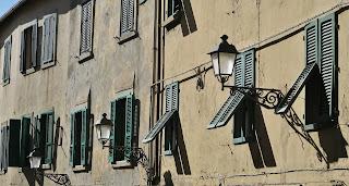 Old town Piombino.   Corso Emanuele.
