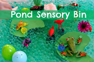 sensory bin fun, 10 sensory bin ideas,