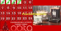 Logo Calendario dell'Avvento Abita Shop: vinci ogni giorno un omaggio Yankee Candle e coupon omaggio