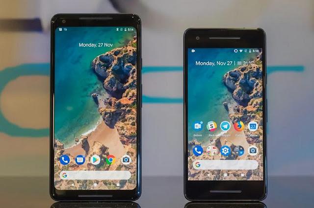 Google pixel 2 battery size Comparison
