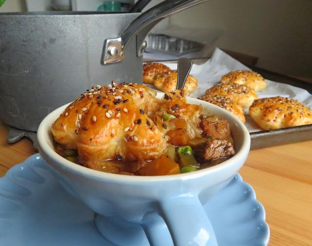 Beef Pot Pie Soup
