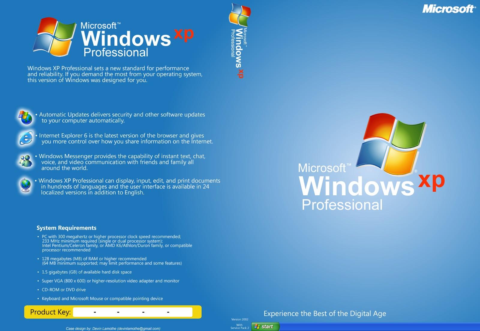 DOWNLOAD WINDOWS XP PRO SP3 (x86/x64) Activated 2019 ✅