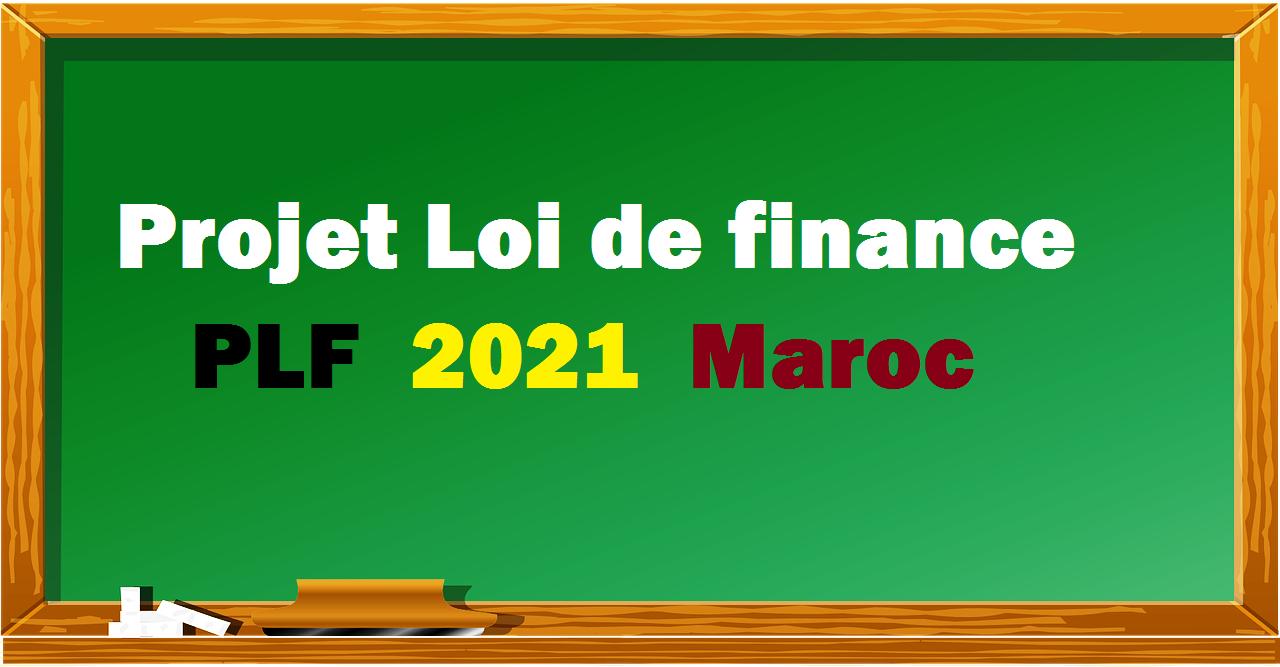 PLF 2021 Maroc
