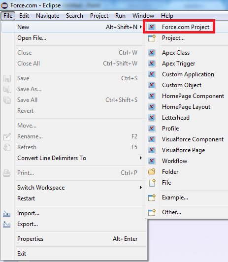 Infallible Techie: How to install Force com IDE for Luna
