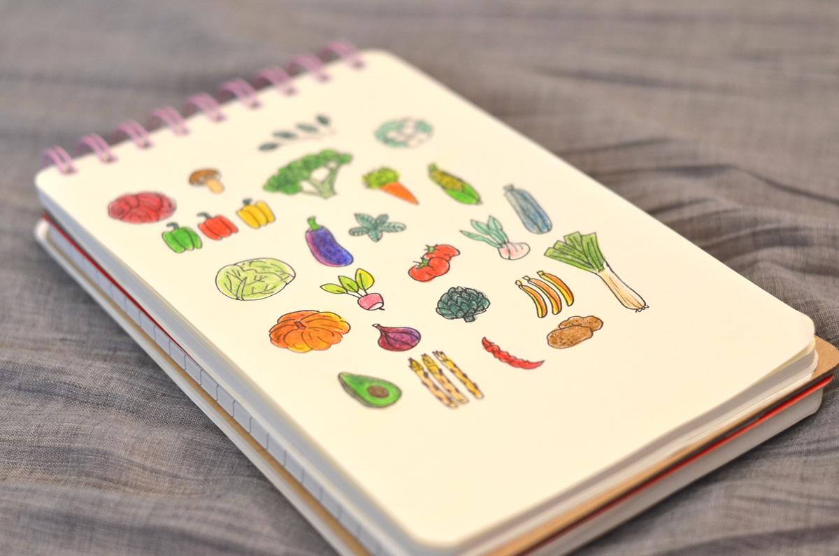 Les légumes - warzywa po francusku