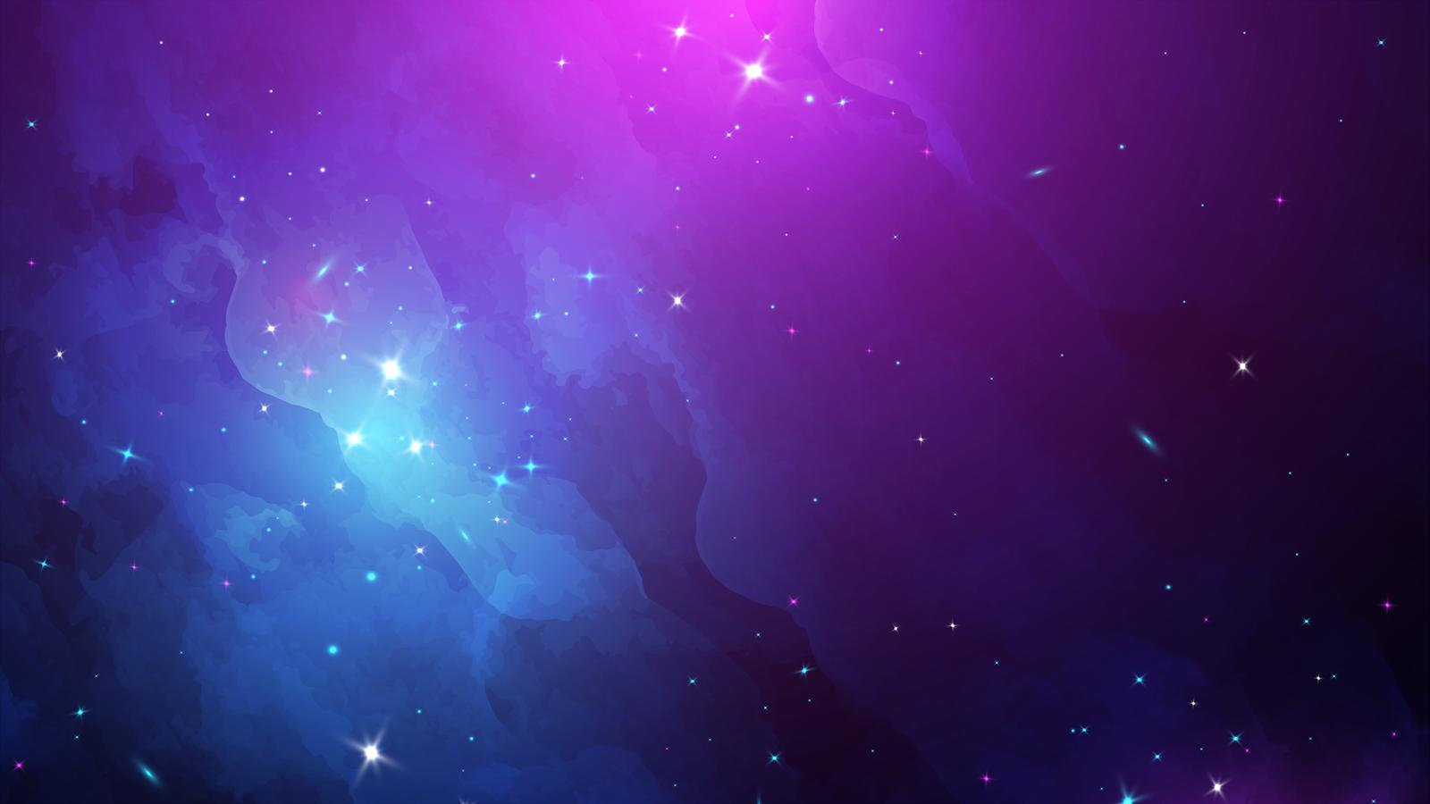 Galaxy in 4K background wallpaper