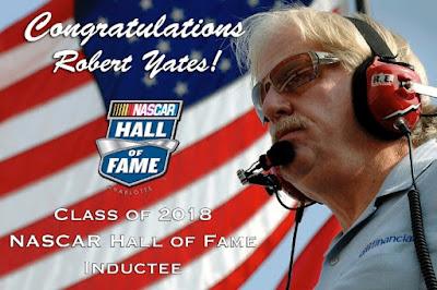 Congratulations Robert Yates #nascar