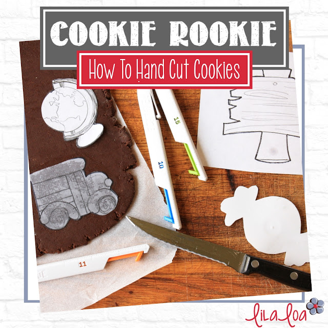 Tutorial for hand cutting custom sugar cookies