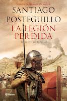 Número 4: La Legión perdida, de Santiago Posteguillo.