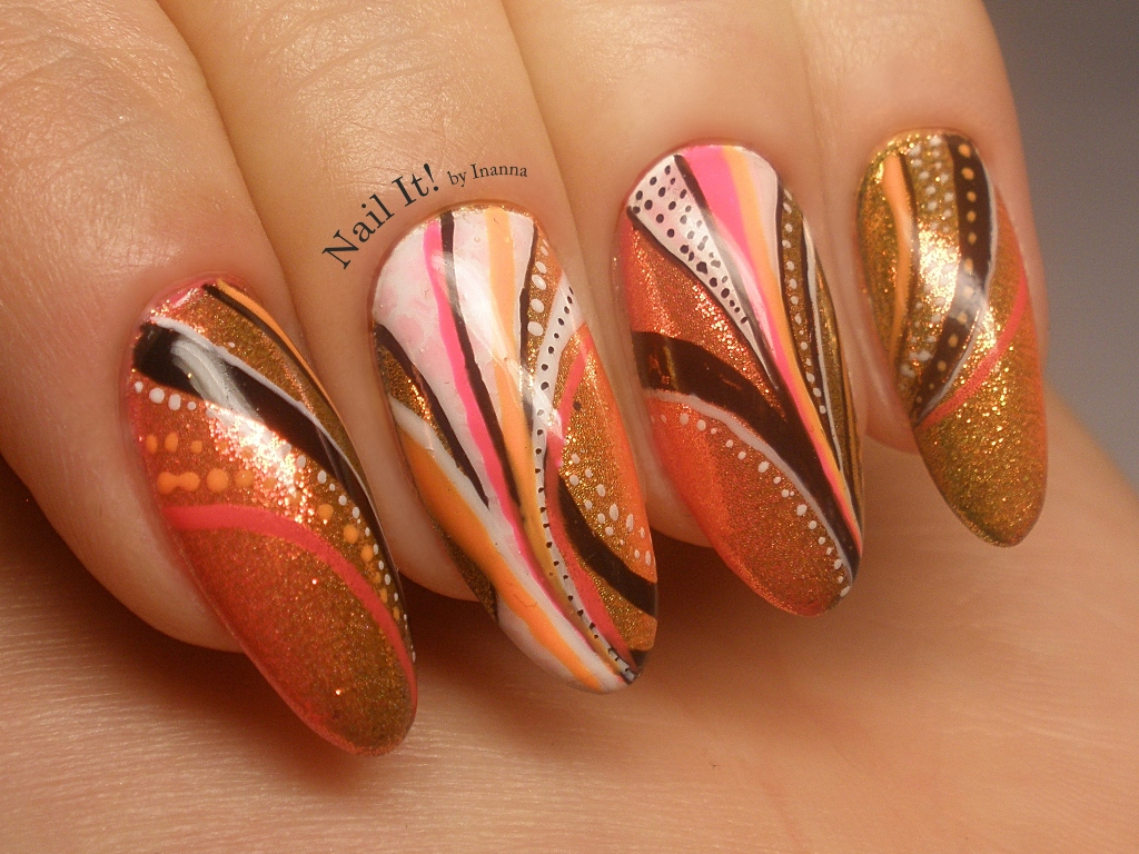 What Do You Think Of Neon Mermaid Effect In Action For Me Its A Perfect Base Nail Art