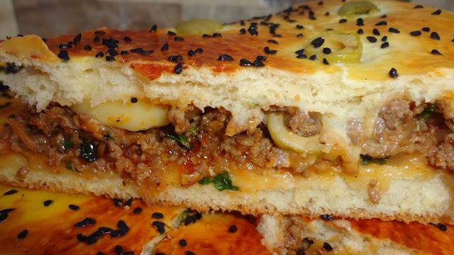 طريقة تحضير طاجين خبز محشي- أكلة تونسية