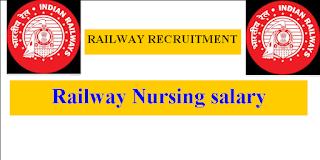 RRB Staff Nurse Salary