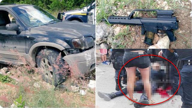 "Por ""Matapolicias"" SSP de Quintana Roo ofrece millonaria recompensa por lo sicarios que emboscaron, rafaguearon y abatieron a sus elementos."