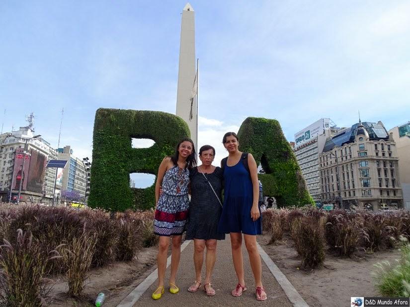 Buenos Aires (Argentina) - Diário de Bordo - Obelisco
