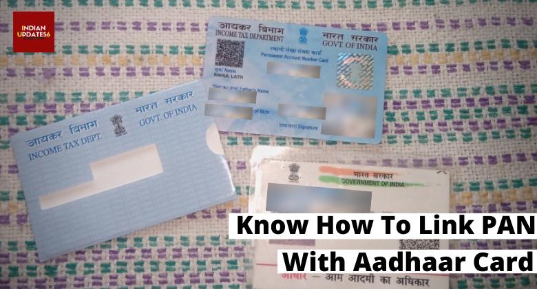 How to Link Your PAN with Aadhaar