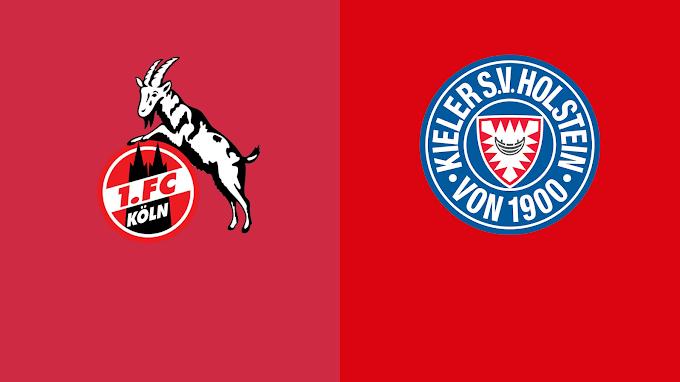 watch matche FC Koln vs Holstein Kiel live stream free