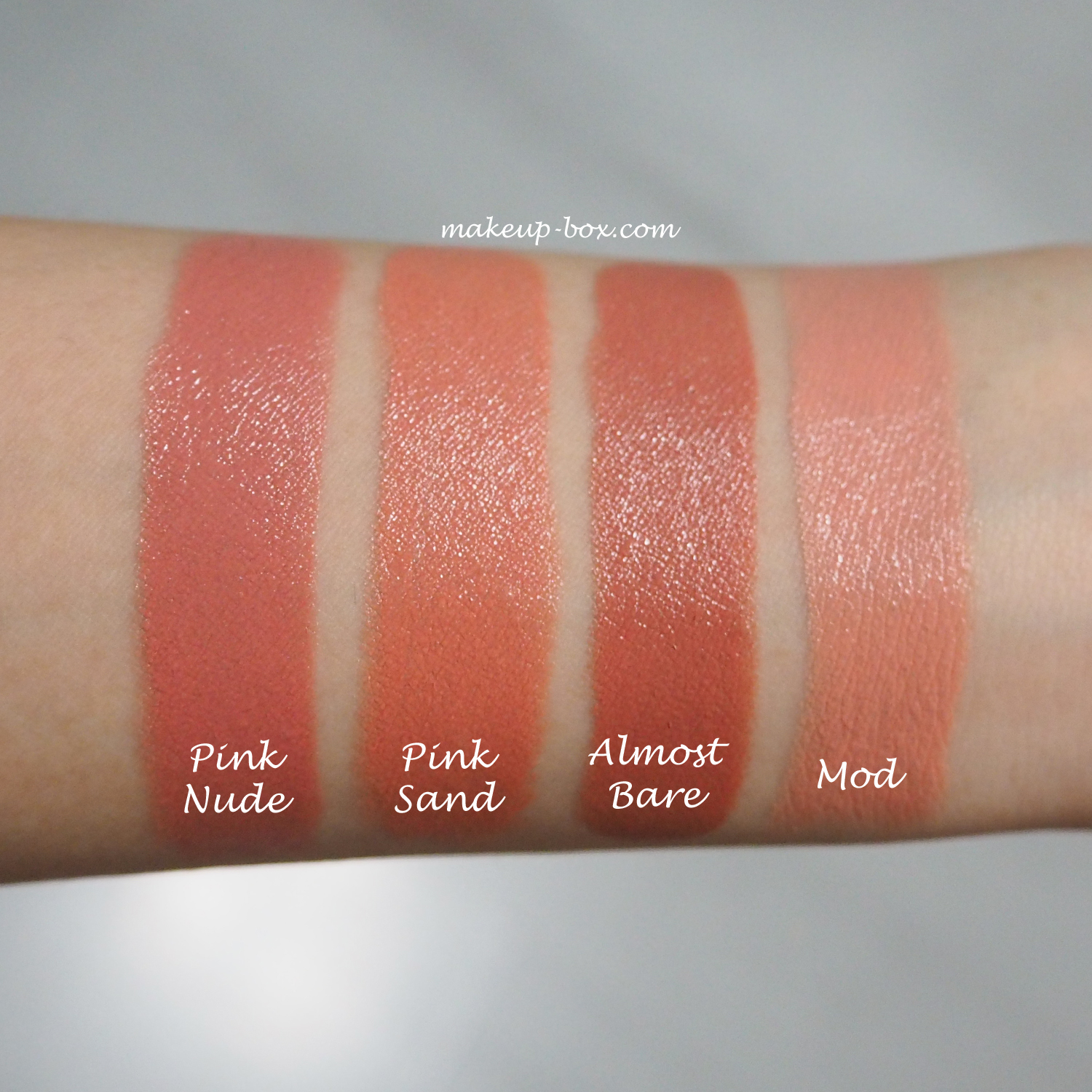 The Makeup Box: Bobbi Brown Luxe Lip Color Swatches and First ...