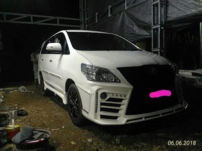 Full Bemper Custom Innova 2013
