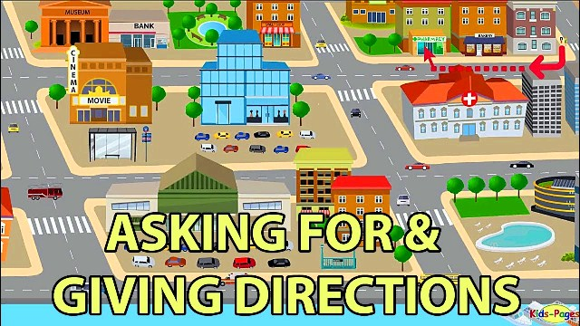materi asking and giving direction dalam bahasa Inggris