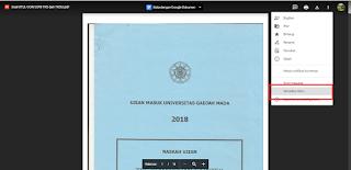 cara menampilkan file pdf di blog