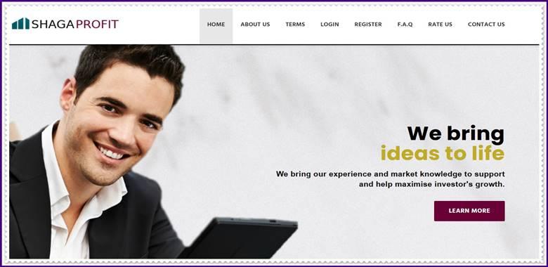Мошеннический сайт shagaprofit.com – Отзывы, развод, платит или лохотрон? Мошенники