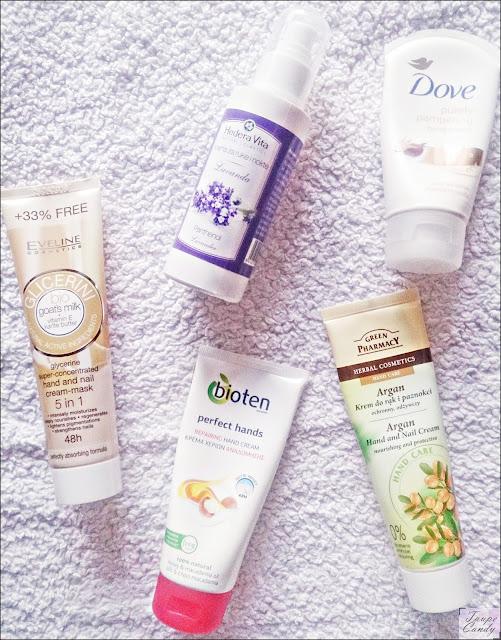 Bioten, Eveine, Green Pharmacy, Dove, Hedera Vita, kreme za ruke