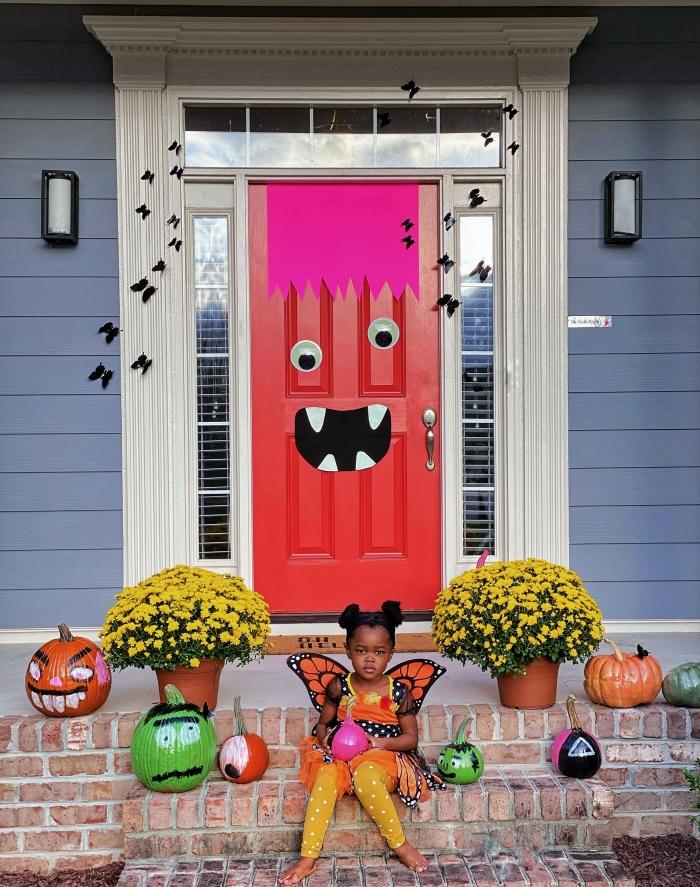 Halloween Inspiration: Our 2021 Monster Door Edition-designaddictmom