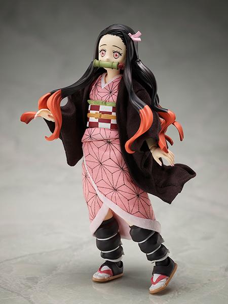 """Figuras: Adorable Nezuko articulada de """"Kimetsu no yaiba"""" - ANIPLEX+"""